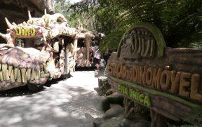 Estação do Dinomóvel no Parque Floybal