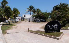 Entrada do Duna Beach com Estacionamento