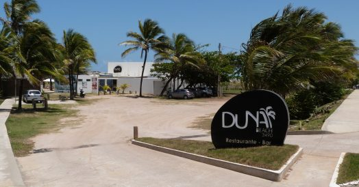 Entrada e Estacionamento do Duna Beach