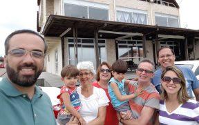 Família Hospedada no Condomínio Morada do Sol