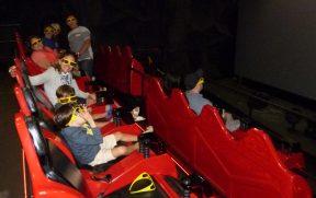 Cinema 7D no Parque Terra Mágica