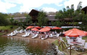 Área de Lazer do Karrancas Restaurante