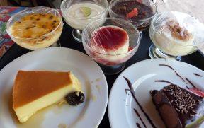 Sobremesas do Karrancas Restaurante