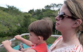 Mãe e Filho no Teleférico