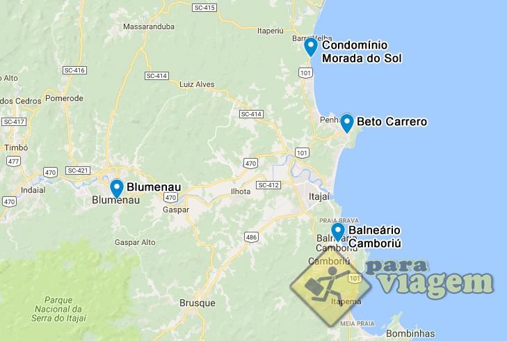 Mapa De Localização De Pontos De Vetor Localização De: Mapa Com A Localização Da Casa E Principais Pontos De