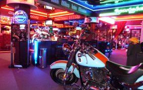 Motocicletas Exportas no Harley Motor Show