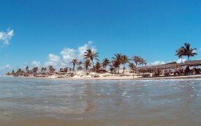 Praia em Mangue Seco