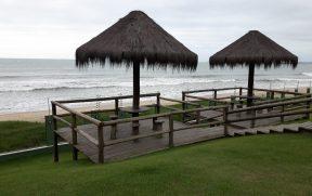 Quiosques de Frente para a Praia