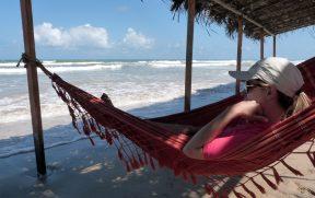 Relaxando na Rede em Mangue Seco