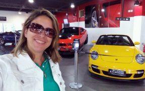 Selfie com Carros Esportivos