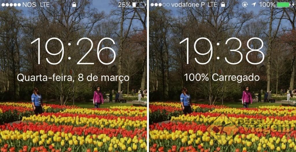 Em Lisboa, a T-Mobile usa o serviço das operadoras NOS e Vodafone