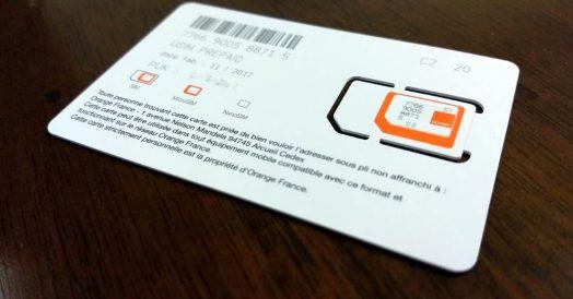 Chip da Orange revendido pela EasySim4U