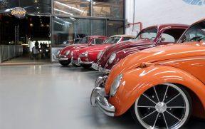 Carros Antigos Expostos no Paradise Garage
