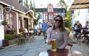 Bebndo uma Cerveja Therezópolis na Vila St. Gallen