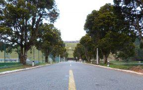 Entrada da CBF na Granja Comary