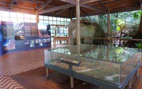 Interior do Centro de Visitantes