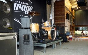 Palco para Shows no Paradise Garage