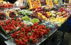 Frutas no La Boqueria