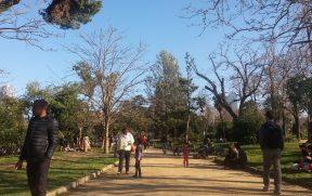 O Parc de la Ciutadella é ótimo pra passear