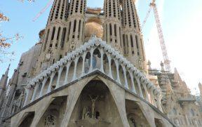 Sagrada Família: Fachada da Paixão