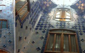 Gaudí posicionou os azulejos de forma a favorecer a luminosidade de cada pavimento