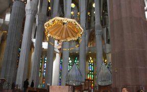 Cristo crucificado do altar