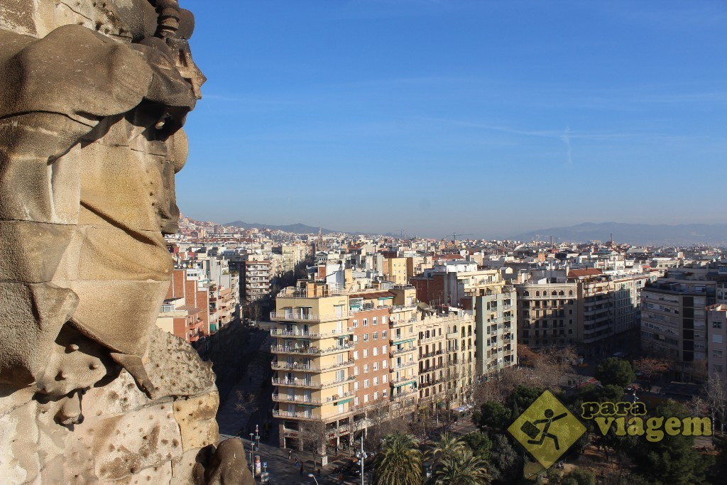 Vista de Barcelona à partir da Torre da Natividade