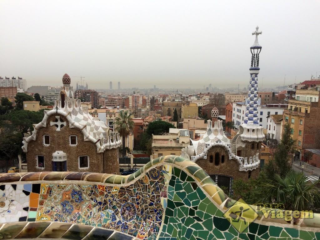 Um dos cartões postais de Barcelona