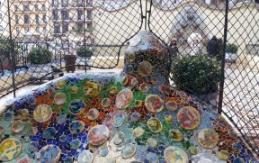 Varanda de um dos apartamentos da Casa Batlló