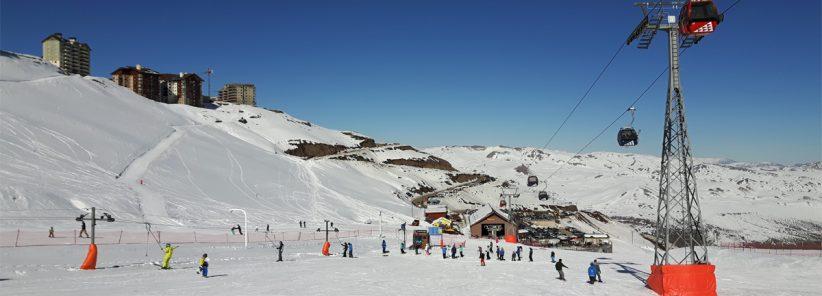 Estação de Esqui no Valle Nevado
