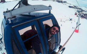 Gôndola de Acesso as Pistas do Valle Nevado