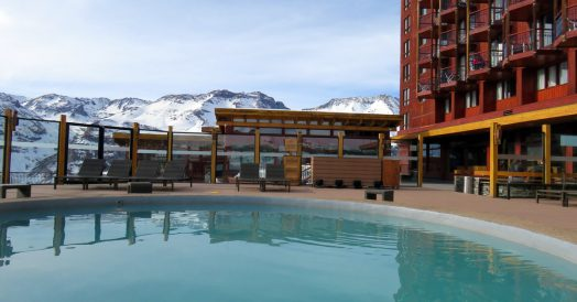 Piscina Aquecida do Valle Nevado
