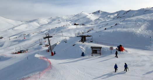 Pistas do Valle Nevado