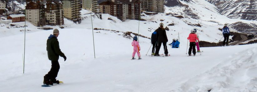 Snowboard e Esqui no Valle Nevado