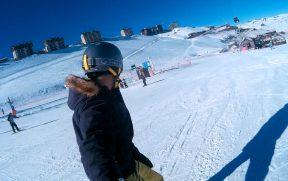 Andando de Snowboard