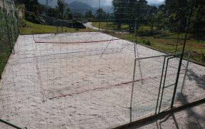 Campo de Areia para Volei e Futebol