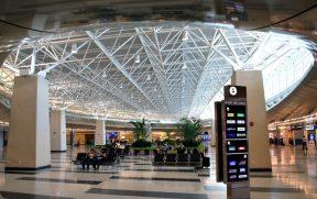 Central de retirada de veículos no aeroporto de Miami