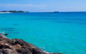 Paradise Beach em Bimini nas Bahamas