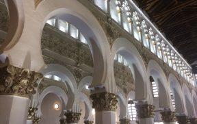 Os arcos da Sinagoga Santa Maria la Blanca