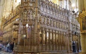 Detalhes do Coro da Catedral