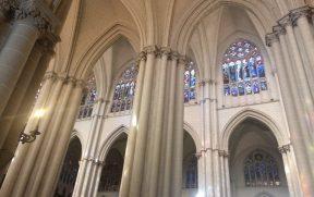 Detalhes góticos da Catedral de Toledo