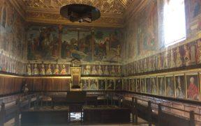 Sala Capitular e seu teto dourado