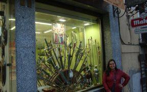 As famosas espadas de Toledo