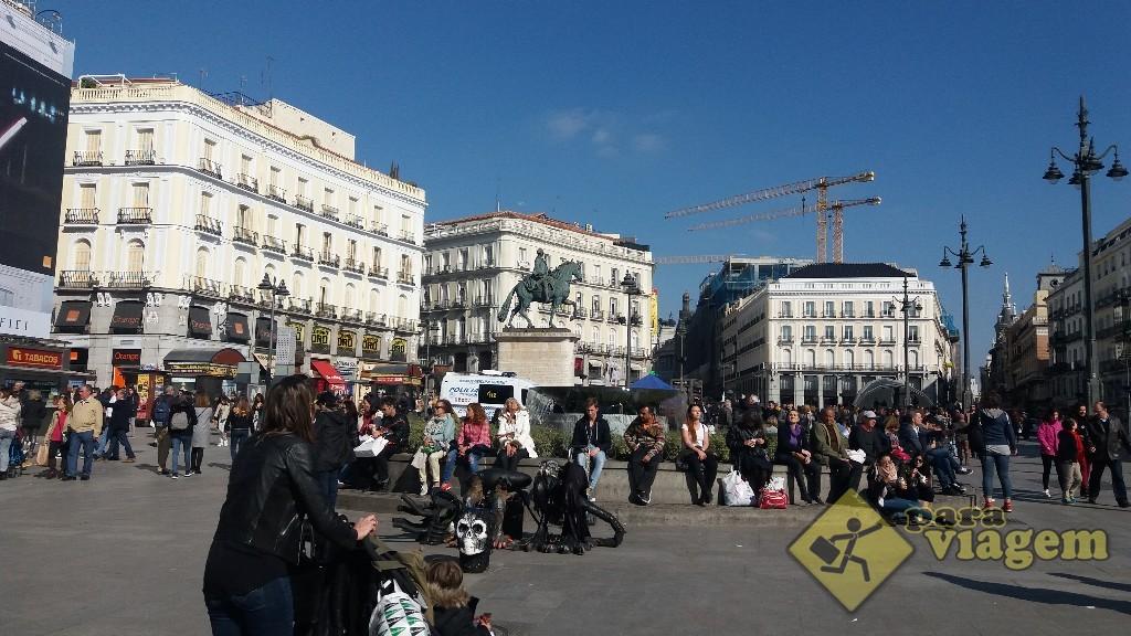 Plaza puerta del sol para viagem for Puerta del sol 2017
