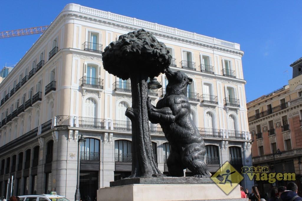 Urso símbolo de Madri