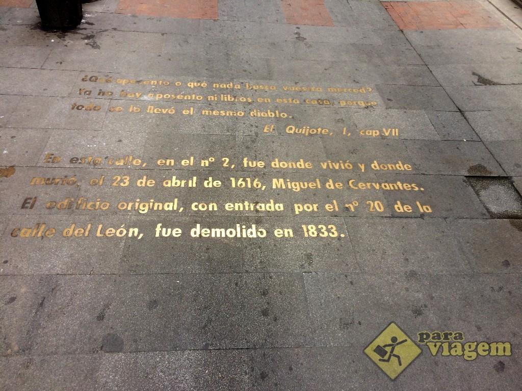 """Trecho de """"Dom Quixote"""""""