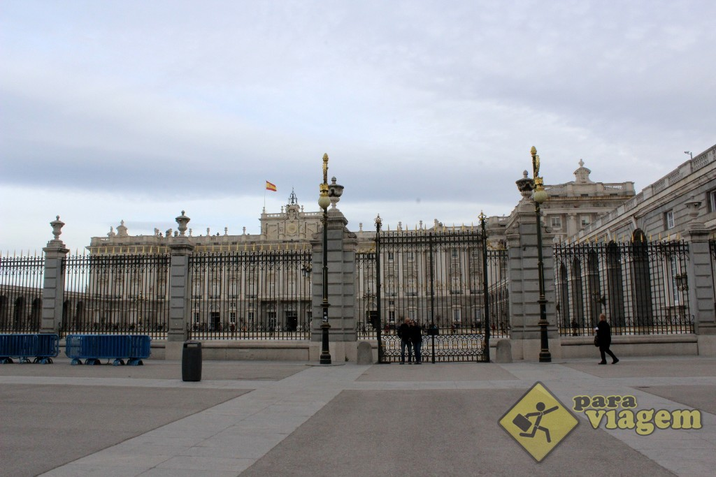 Portão do Palácio Real de Madri