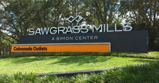 Sawgrass Mills na Flórida