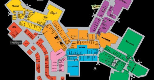 Mapa do Sawgrass Mills