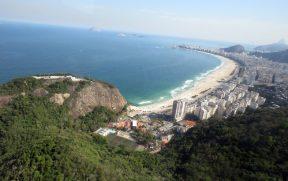Praia de Copacabana Vista do Helicóptero